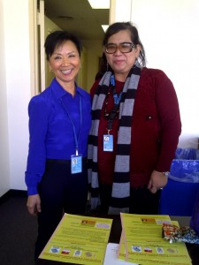 with chief of United Nations NGO CSW